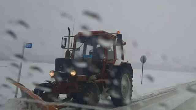 В Апшеронском районе восстановлено сообщение с поселками, отрезанными снегопадом