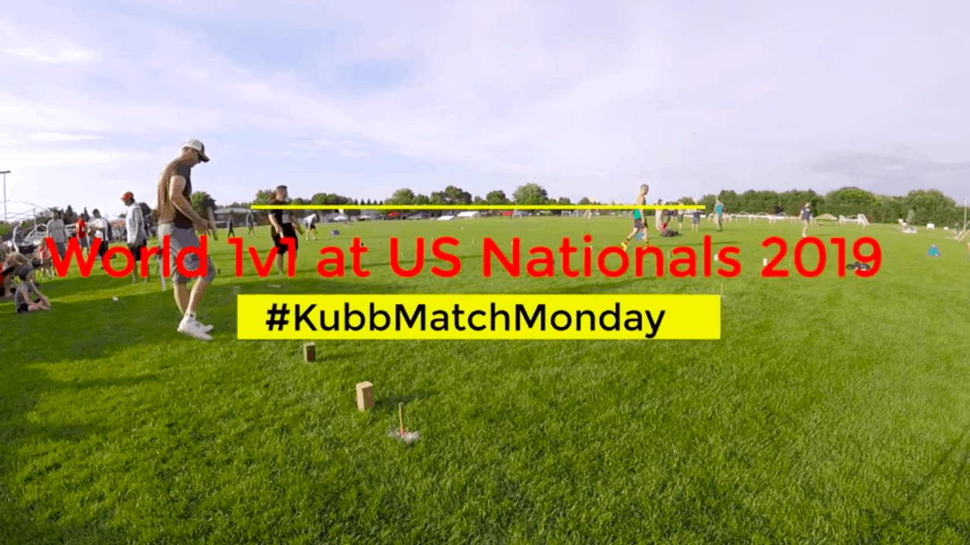 Video still from World 1v1 Kubb Championship.