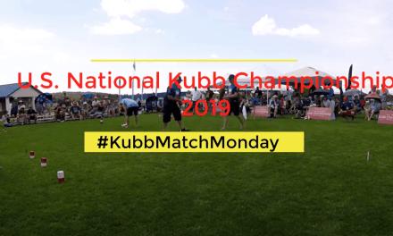 Kubb Match Monday: Skol vs. Chaska Blue