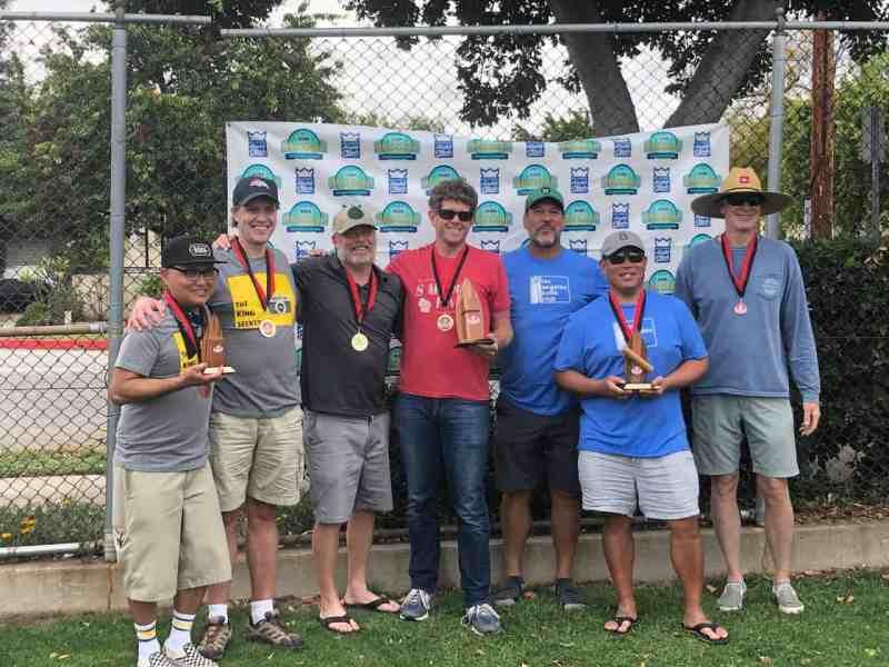Photo of the 2021 West Coast Kubb Championships winners.