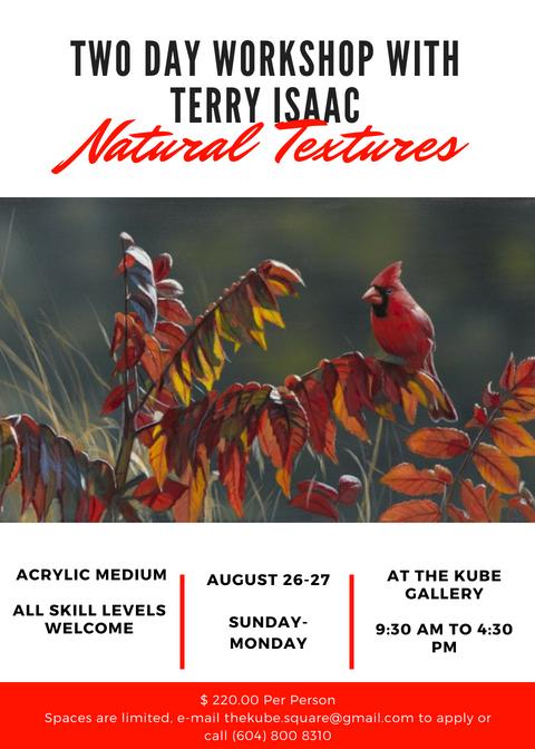 Terry Isaac - Natural TexturesWorkshop