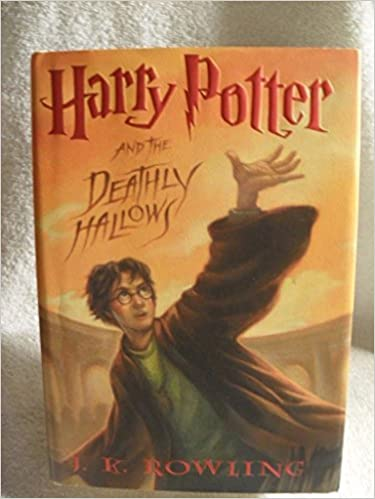 RAREJ.K. ROWLING Harry Potter and the Deathly Hallows 1st Edition 2007 HC BOOK