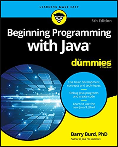 Beginning Programming with Java For Dummies (For Dummies (Computer/Tech)) Burd, Barry 9781119235538