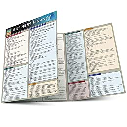 Business Finance (Quick Study Business) BarCharts, Inc. 9781423208587