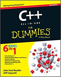 C++ All-in-One For Dummies (8601421975742) Mueller, John Paul, Cogswell, Jeffrey M.
