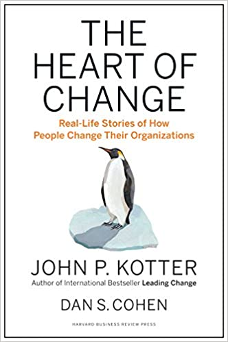 The Heart of Change Real-Life Stories of How People Change Their Organizations Kotter, John P., Cohen, Dan S. 9781422187333