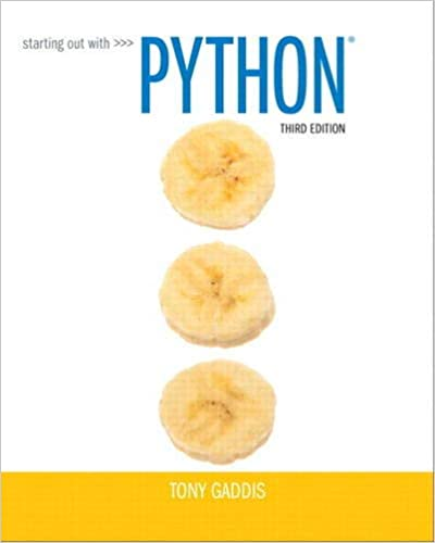 Starting Out with Python (3rd Edition) 8601421974844 Computer Science  @