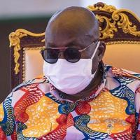 First PHOTO From Nana Addo's Isolation House Drops
