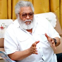 Former President Rawlings Reveals Why His Surname Was Changed To Rawlings; See His Real Surname