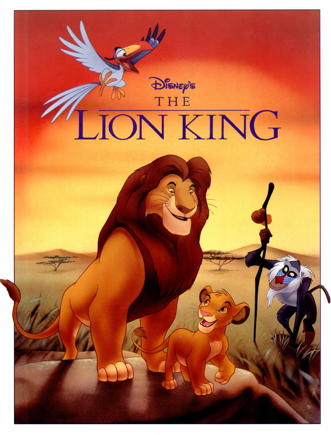 Categories And Functions Of Sound The Lion King 1994 Ajoseph24