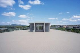 妙円寺保育園_ルーフバルコニー(屋上園庭)