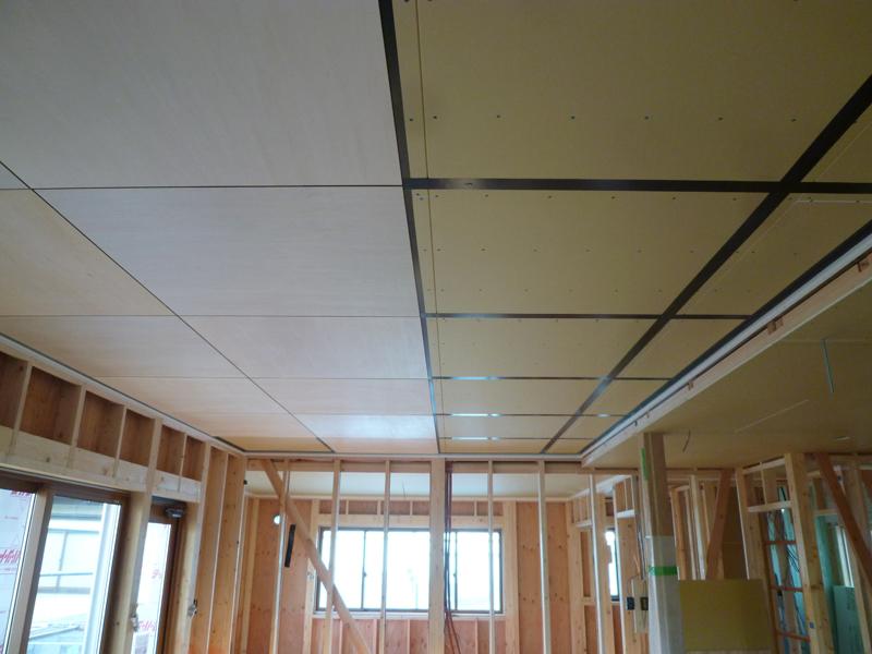 シナ合板 天井