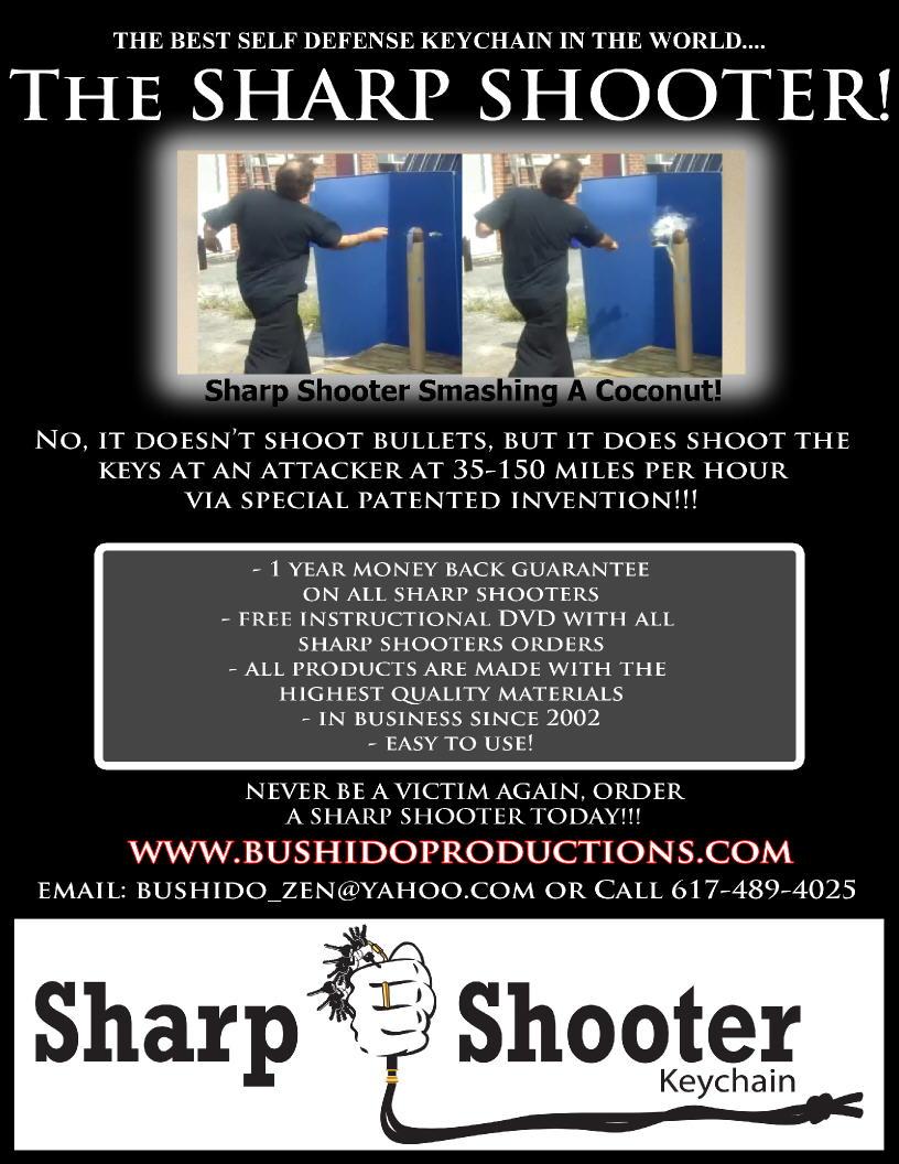 SHARP SHOOTER MAG AD BLACK coconut break