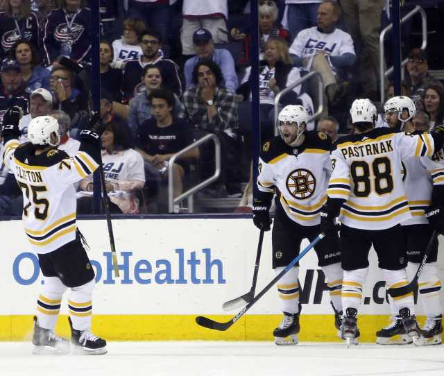 Bruins Advance To Conference Finals With Game 6 Victory Over Blue Jackets