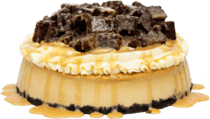 cheesecake-de-caramelo-con-brownie