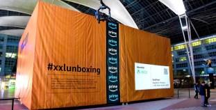 Xbox One X Live Unboxing Event Flughafen München 3. November 2017 ©Microsoft/Flimmer/Kurt Krieger