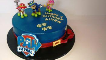 Paw Patrol Kuchen Motivtorte Tutorial Das Logo Kuchen Kind
