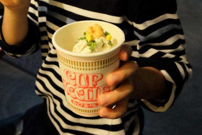 NOODLES BAZAAR -ワールド麺ロード- カップヌードルソフトクリーム