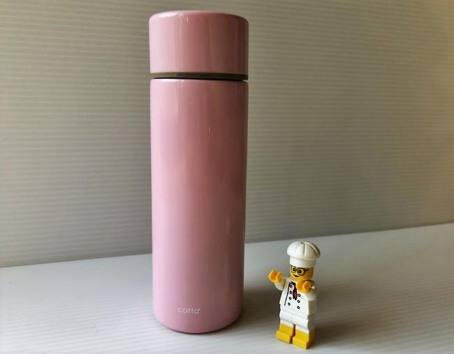 cotta ステンレスミニボトル ピンク