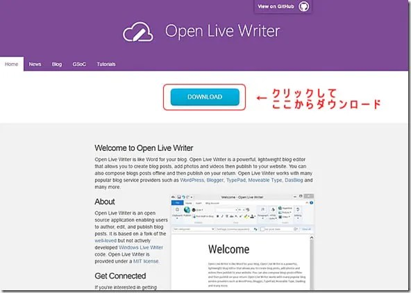 Open Live Writer download