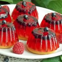 Galaretki z owocami