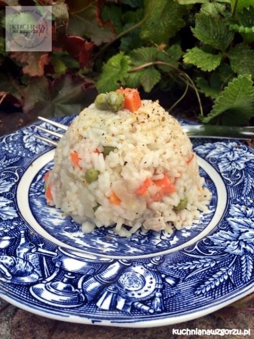 risotto z wieprzowina