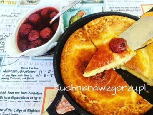 omlet pieczony przepis