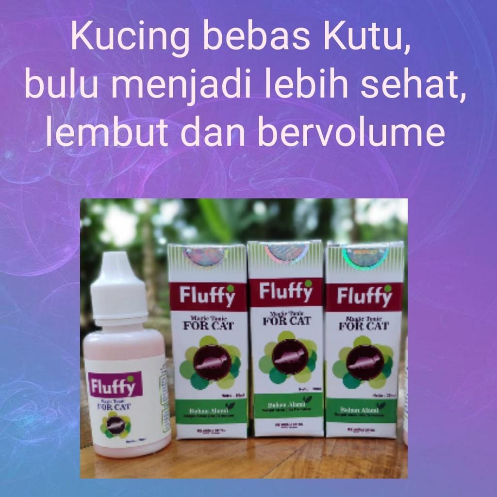 Obat Kutu Kucing Alami Fluffy Care Indonesia
