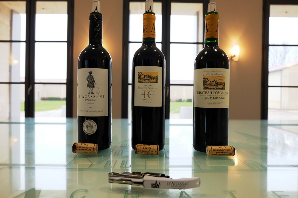 chateau dagassac - medoc - bordeaux - kucuk martha - wine tasting