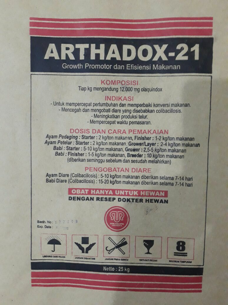ARTHADOX-21 (Growth Promotor & Feed Eficiency)