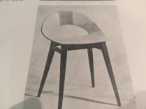 Krzesło lata 50