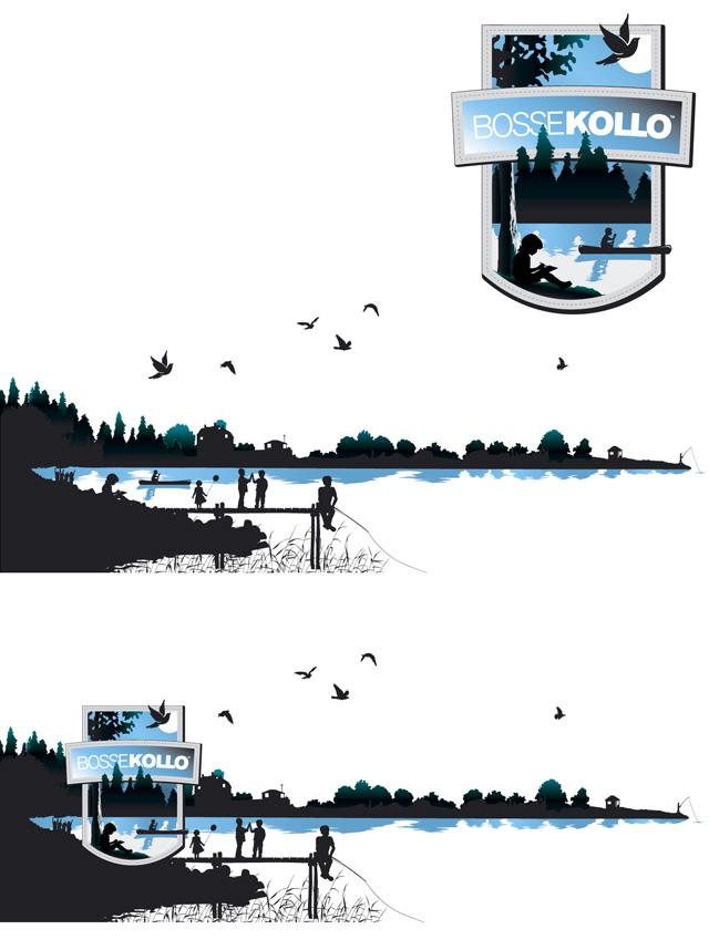 Grafisk illustration BOSSE-kollo