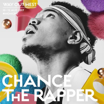 Bråvalla Festival Norrköping vs Way Out West Göteborg Chance The Rapper