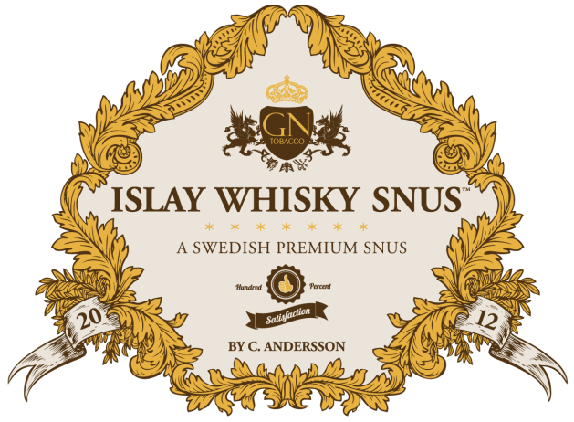 Islay Whisky Snus™ logotyp