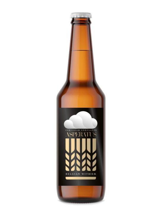 öletikett hembryggd öl veteöl asperatus