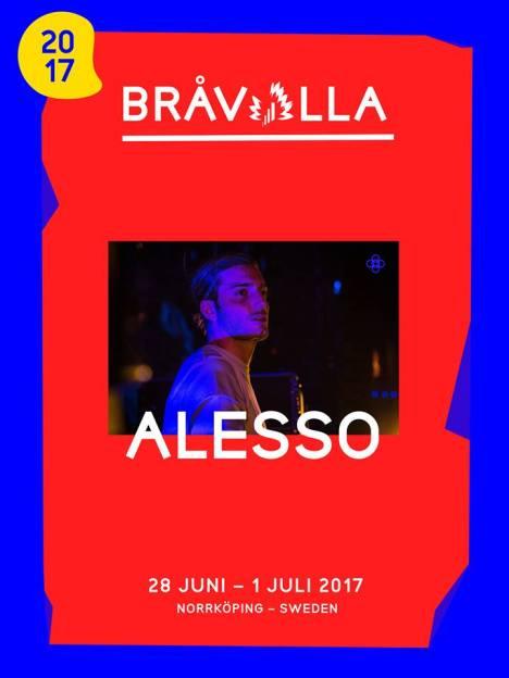 Bråvalla Festival Norrköping Alesso
