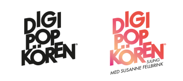 Logotyp i svart och färg