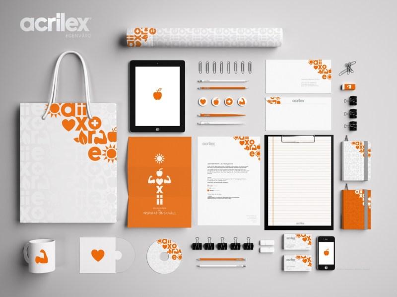 Grafisk profilering › Acrilex