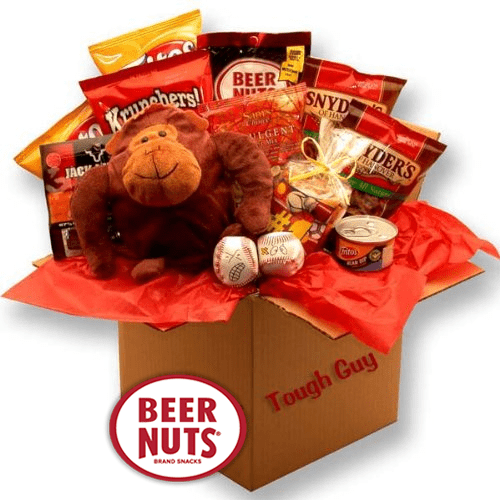 beer nuts tough guy snack box