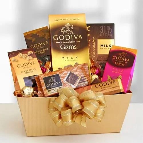 Godiva Gems Exquisite Gift Basket Sweepstakes