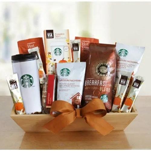 Starbucks Shades of Autumn Gourmet Gift Basket