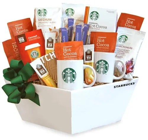 Starbucks Coffee and Chocolate Biscotti Gift Box Sweepstakes