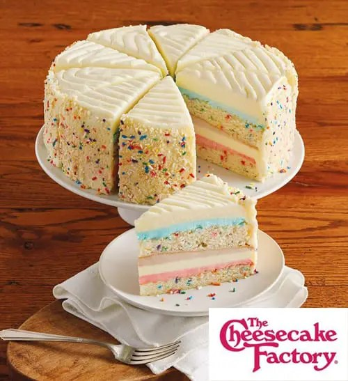 Cheesecake Factory Celebration Cheesecake of the Year Sweepstakes