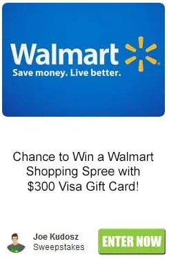 Walmart Shopping Spree Sweepstakes
