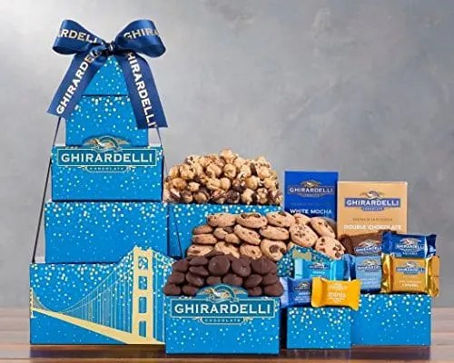 Ghirardelli and Chocolate Chip Cookies Gift Tower Sweepstakes