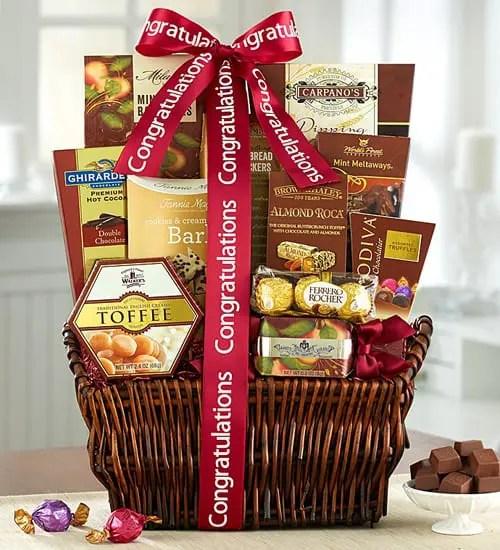 Godiva Caramel Chocolates Congratulations Gift Basket Sweepstakes