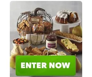 Pumpkin Bundt Cake and More in Harry and David Pumpkin-shaped Gift Basket Sweepstakes
