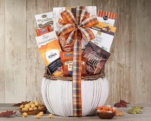 Ghirardelli Dark Chocolate Harvest Favorites Gift Basket