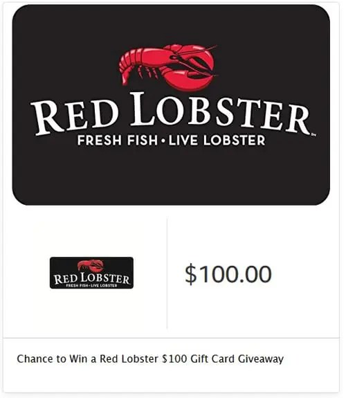 Red Lobster Endless Shrimp Gift Card Giveaway