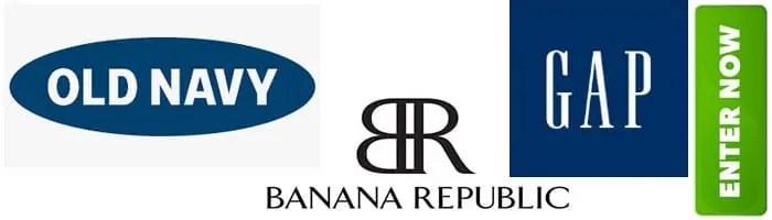 Old Navy   Banana Republic   Gap Shopping Spree Sweepstakes